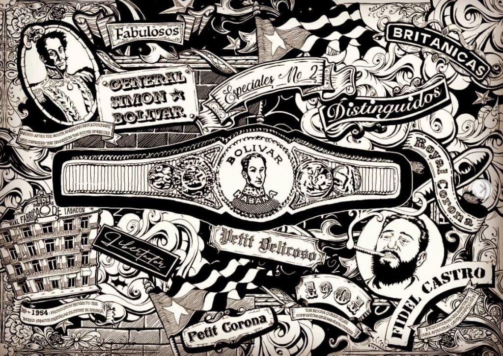 Bespoke Hand Drawn Wallpaper